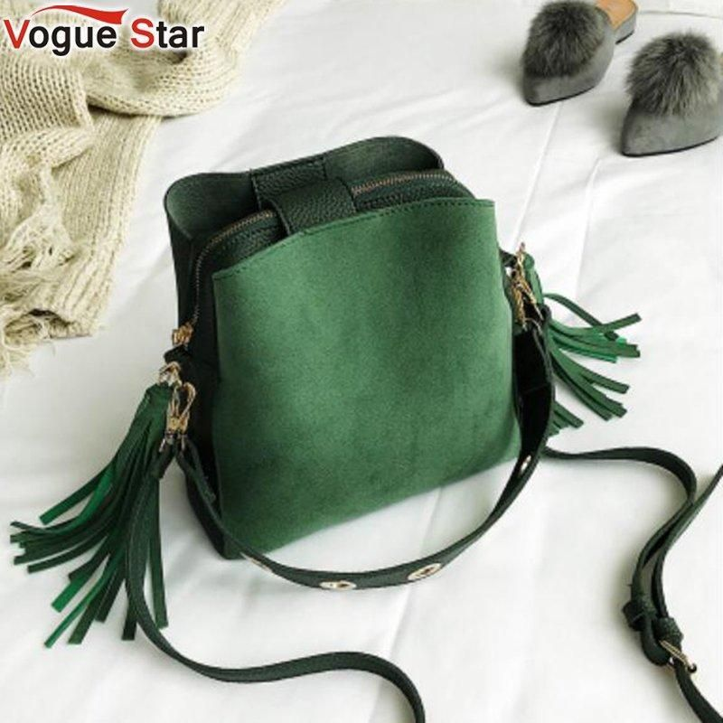 6102392b8c 2018 Fashion Scrub Women Bucket Bag Vintage Tassel Messenger Bag High  Quality Re  fashion  clothing  shoes  accessories  womensbagshandbags (ebay  link)