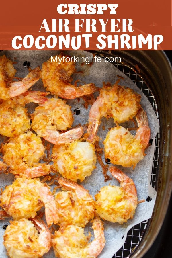 Air Fryer Coconut Shrimp with Dipping Sauce #airfryerrecipes
