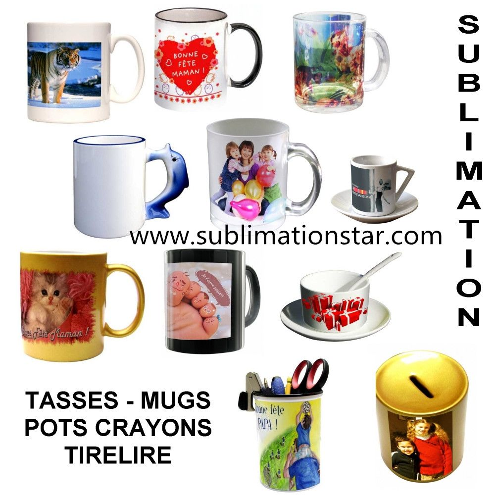 This Bright And Vivid Sublimation Mug Can Be Printable With Photos Dye Sublimation Ink And Heat Press Machine Mugs Sublimation Mugs Sublimation Transfer Paper