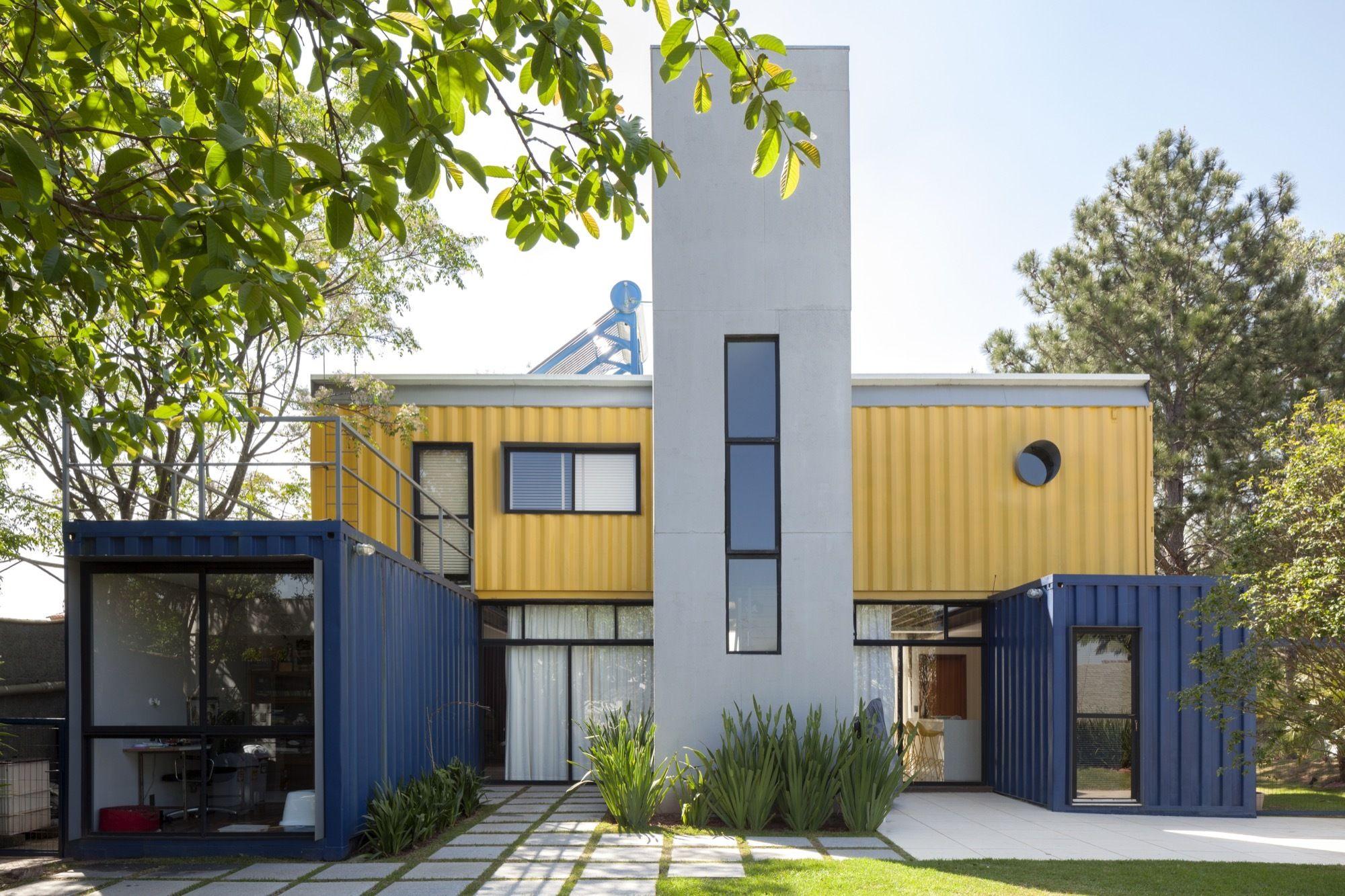 Casa Container Granja Viana / Container Box   Pinterest