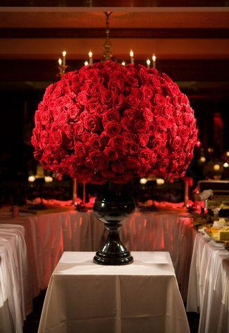 Image Of Large Red Rose Flower Arrangement Rose Flower Arrangements Red Rose Arrangements Red Flower Arrangements
