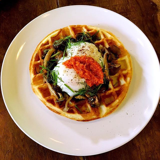 Potato Waffle Potato waffle , mushroom friccasse, 63degree eggs, tomato fondue, Herbs salad . . #dsloong #vcrcafe #vcr  #asianfood #asianfoodchannel #asiancuisine #food #foodie #foodgasm #foodpics #foodpornstar #foodpornasia #foodgasm #foodporn #delicious #brunch #dessert #mamak #naan #roti #noodles #malaysianfood #breakfast #lunch #dinner #noodles #restaurant  Yummery - best recipes. Follow Us! #foodporn