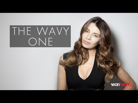 How To Create And Blowdry Wavy Hair - The Wavy One | seanhanna - YouTube