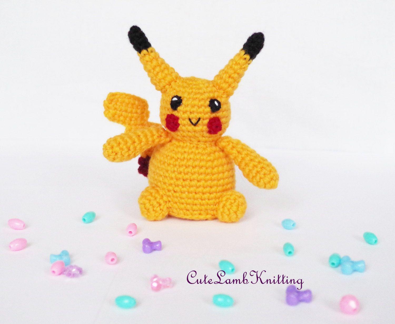 Crochet amigurumi Pokemon Pikachu toy, Crochet Pokemon Pikachu ...