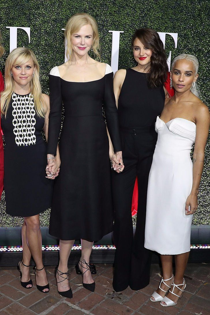 The Cast Of Big Little Lies Sticks Together Ahead Of The Show S