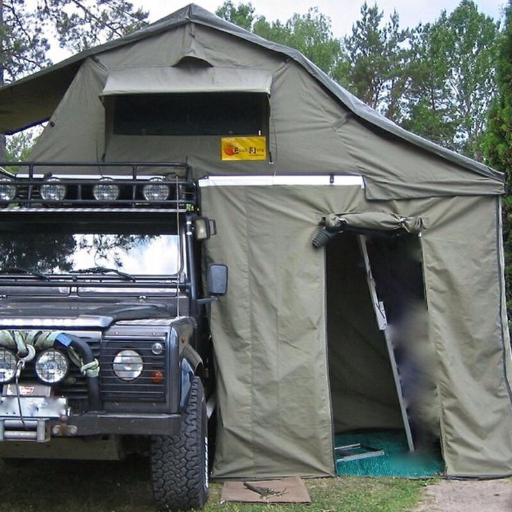 Land Rover Defender Expedition Ideas