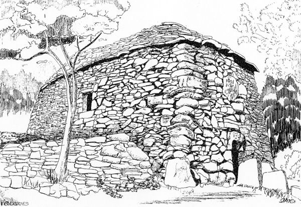 Vicissitudes des cabanes en pierre seche 2 christian for Cabanes du jardin de pierre