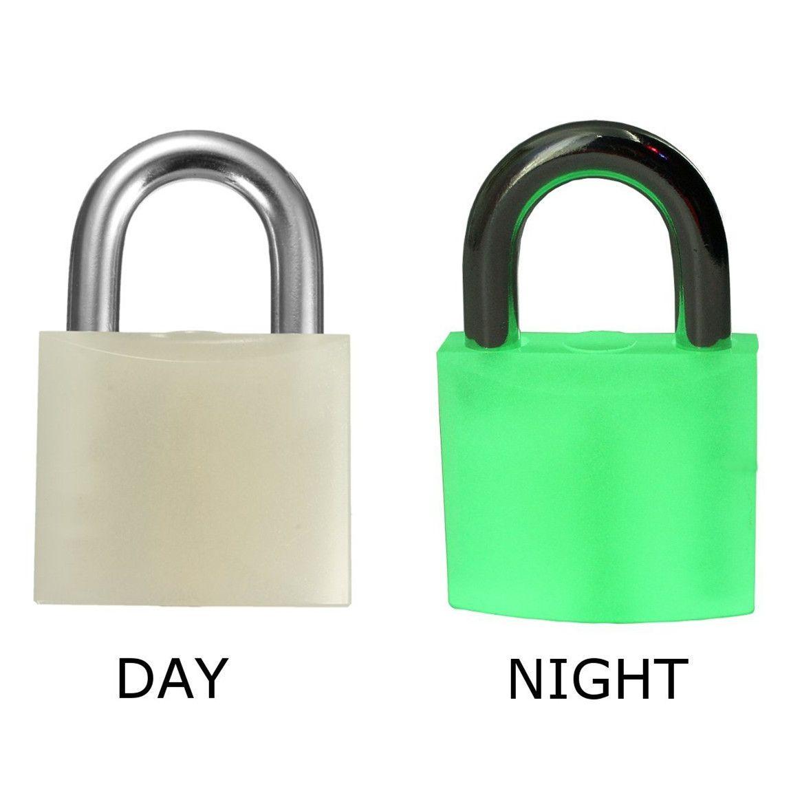 6fd062094f Safe Luminous Padlock 50mm Fluorescent Lock Industrial Safety Management  Lock for Door Window Drawer Warehouse Power