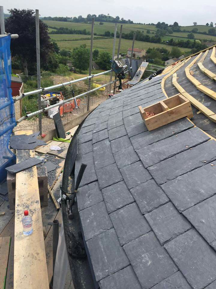 Best Curved Slate Roofing Roof Design Aluminum Roof Self 400 x 300