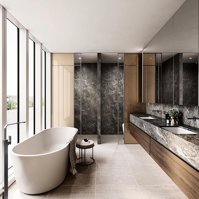 50 Bathroom Vanity Ideas Ingeniously Prettify You And: Master En-suite At Pillar In Hawthorn, Designed By