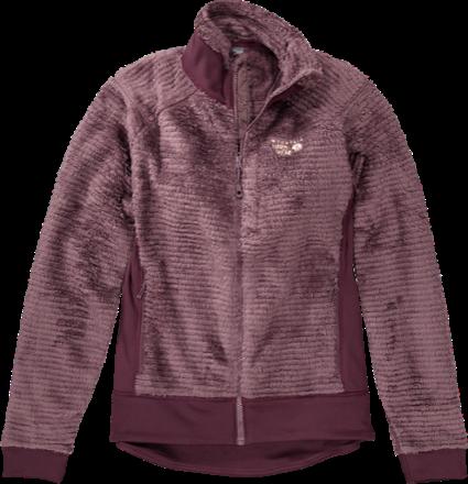 e0ff083fcf61 Mountain Hardwear Women s Monkey Woman Fleece Jacket Purple  Plum Marionberry XS