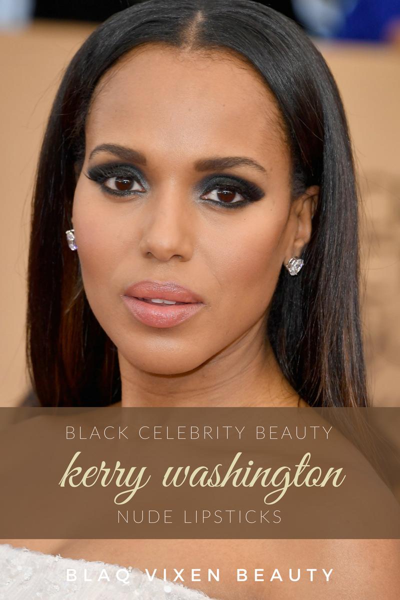 Kerry Washington SCANDAL Olivia Pope Maquillage Ultra NUDE