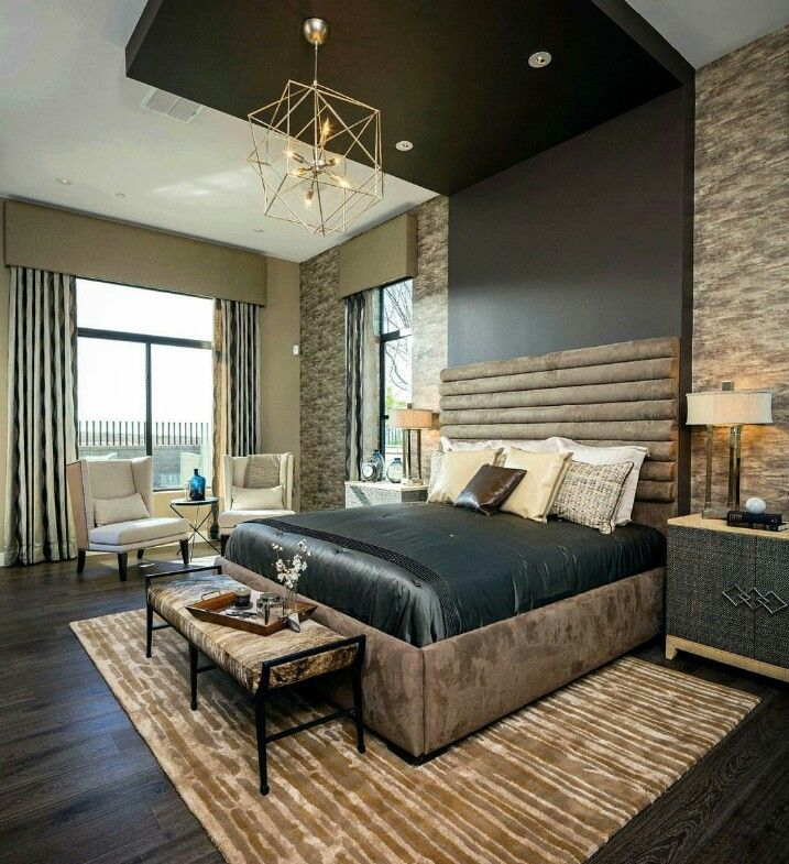 Masculine Master Bedroom By Toll Brothers Masculine Master Bedroom Bedroom Design Master Bedroom Design Master bedroom ideas masculine