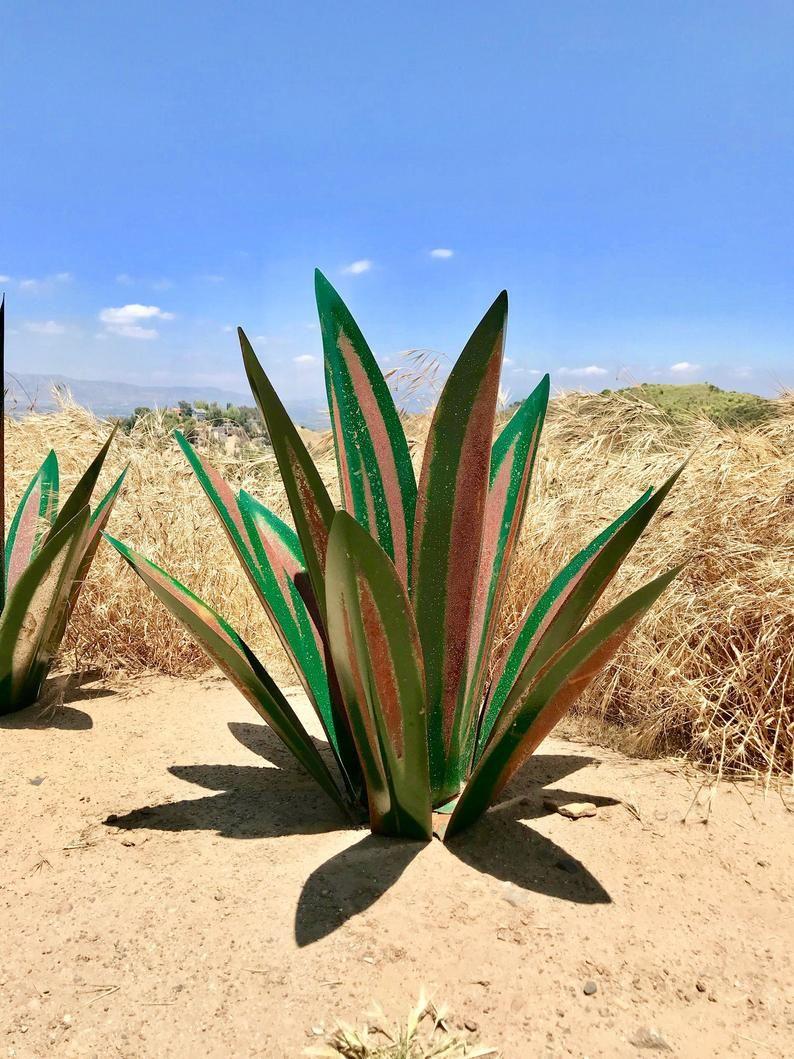 2 1/2 Foot Green Tequila,Rustic,Sculpture,Metal Art,Garden
