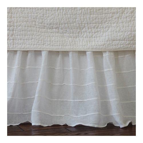 Taylor Linens Tucked Linen Bed Skirt & Reviews   Wayfair