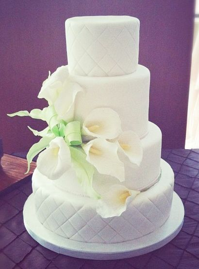 Calla Lily Bouquet Calla Lily Wedding Cake Wedding Cake Designs