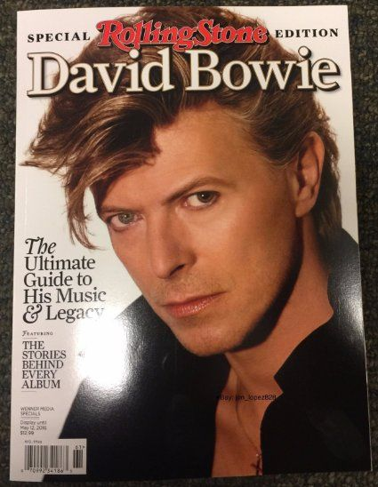 David Bowie Rolling Stone Magazine - 2016 Special Collectors Edition -Brand New