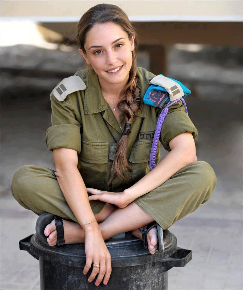 10 Most Stunning Beauties Of The Idf Israeli Female Soldiers