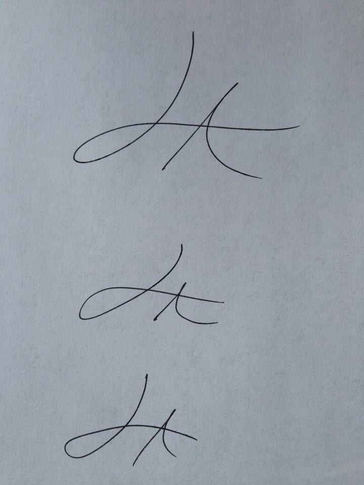 Create a signature watermark in elements