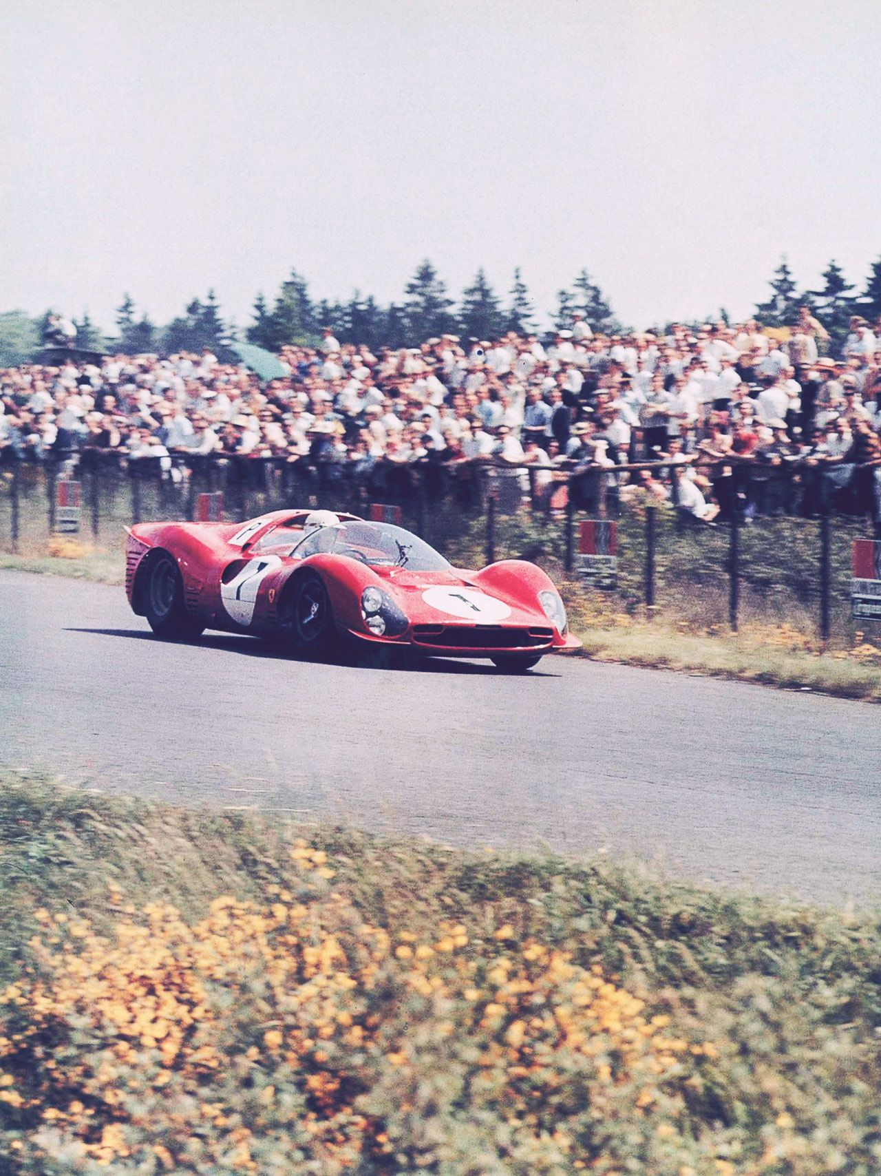 Mike Parkes And John Surtees Shared This Ferrari 330 P3 At The 1000 Kms  1966 · Sports Car RacingSports ...