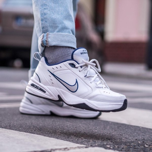 Find The Nike Air Monarch Iv Lifestyle Gym Shoe At Nike Com Free Delivery And Returns In 2020 Nike Air Monarch Mens Walking Shoes White Nike Shoes