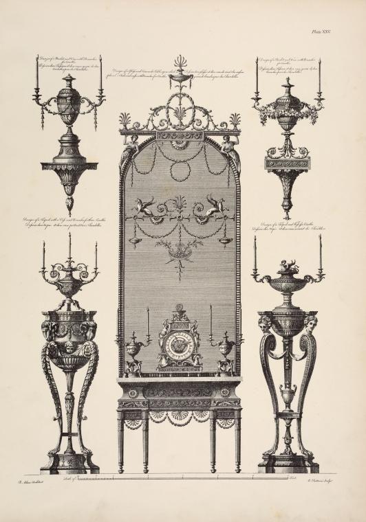 Resultado de imaxes para grabados de Robert y James Adam
