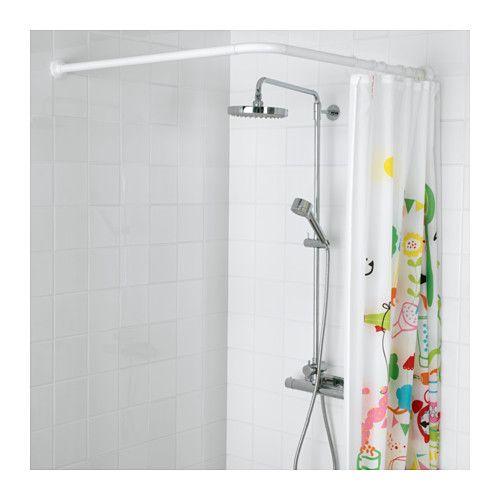 erkunde duschvorhang stangen duschvorhnge und noch mehr - Ikea Stange Dusche