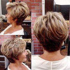 34 flattering short haircuts for older women  sporty