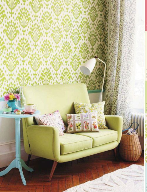 The Home in Yellow and Lime Green | Dream Interior Inspiration ...