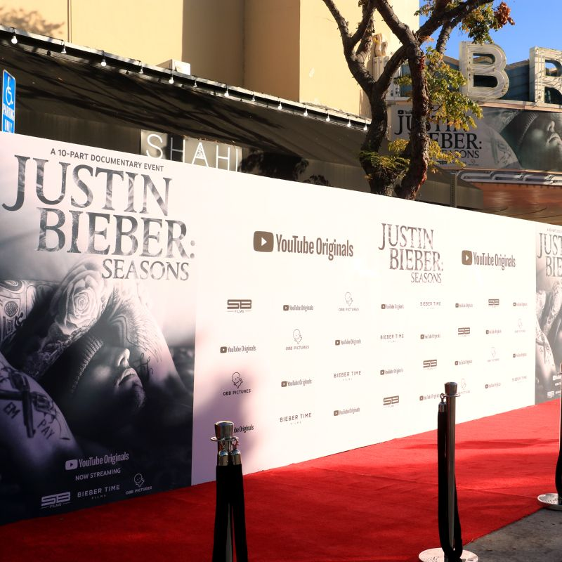 Step And Repeat La Backdrops And Banners For Red Carpet Events In 2020 Media Wall Event Backdrop Backdrops