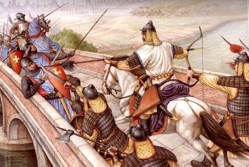 Berke–Hulagu war | Esercito, Cavalieri, Medioevo