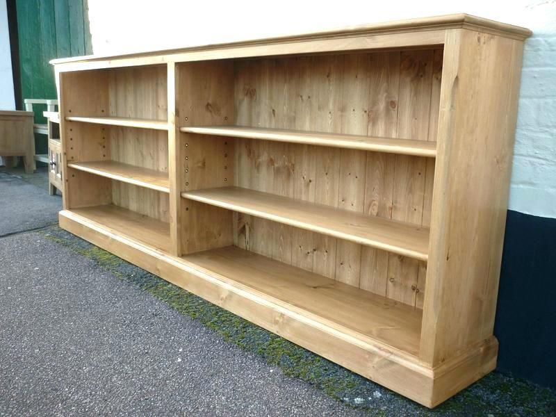 Mid Century Low Bookcase Long Profile Bookshelves House