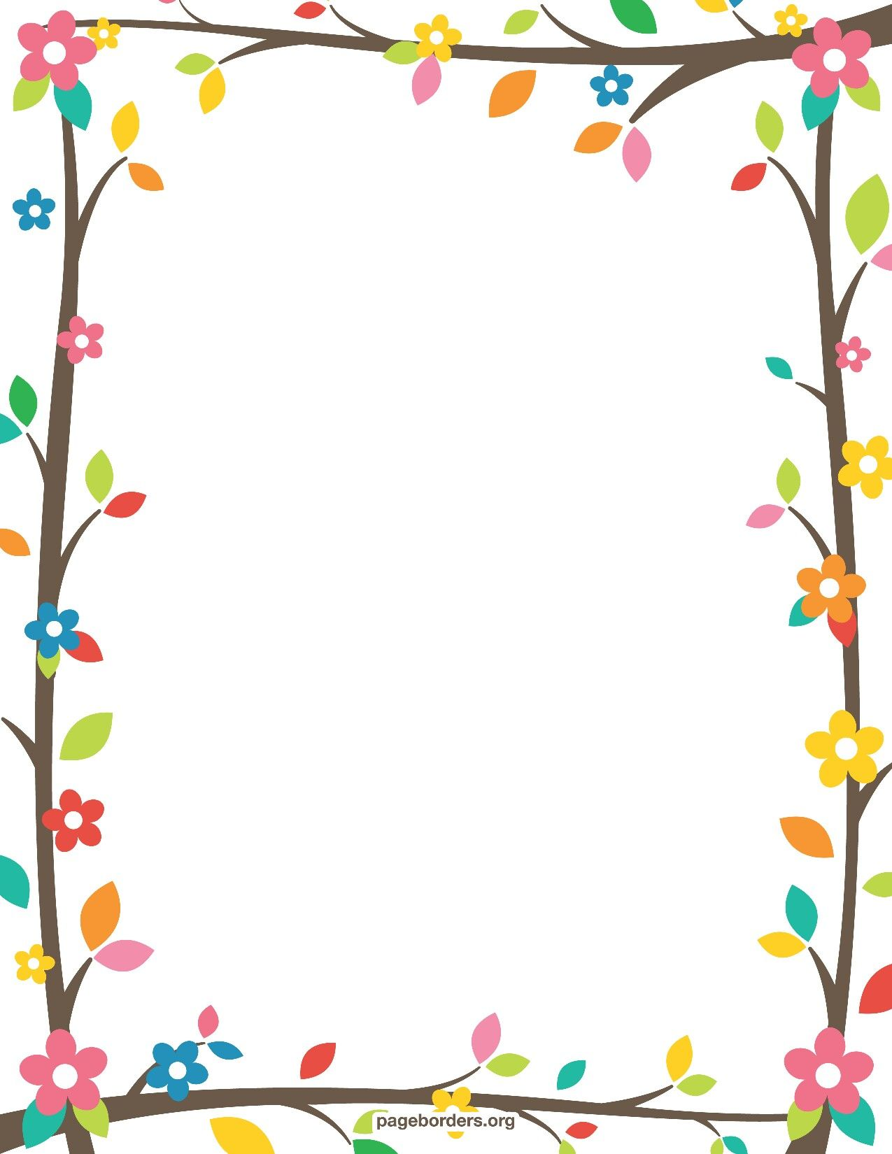 Paper Border Design  Paper Border Designs Templates