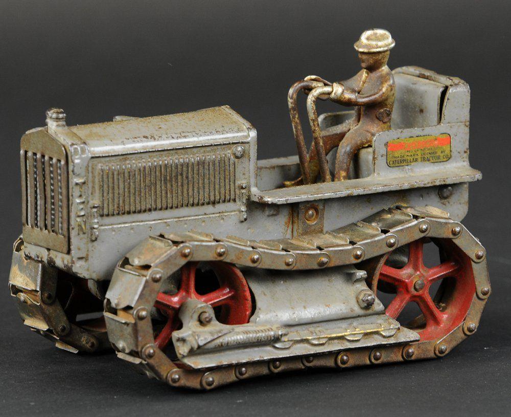Cast Iron Caterpillar Toy Metal toys