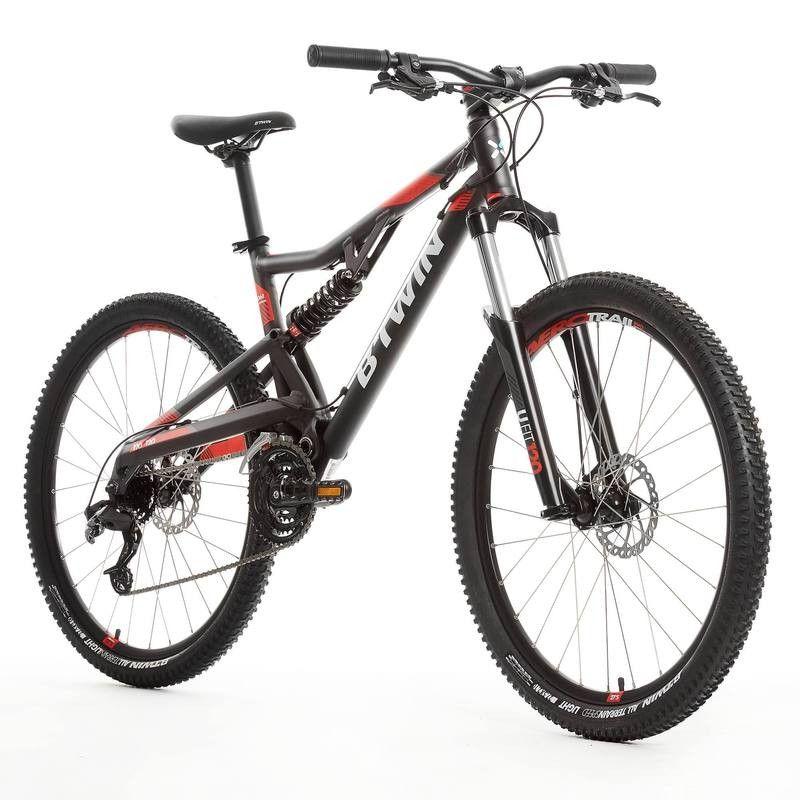 ed143ed313 Vélo vtt st 520 s gris 27,5