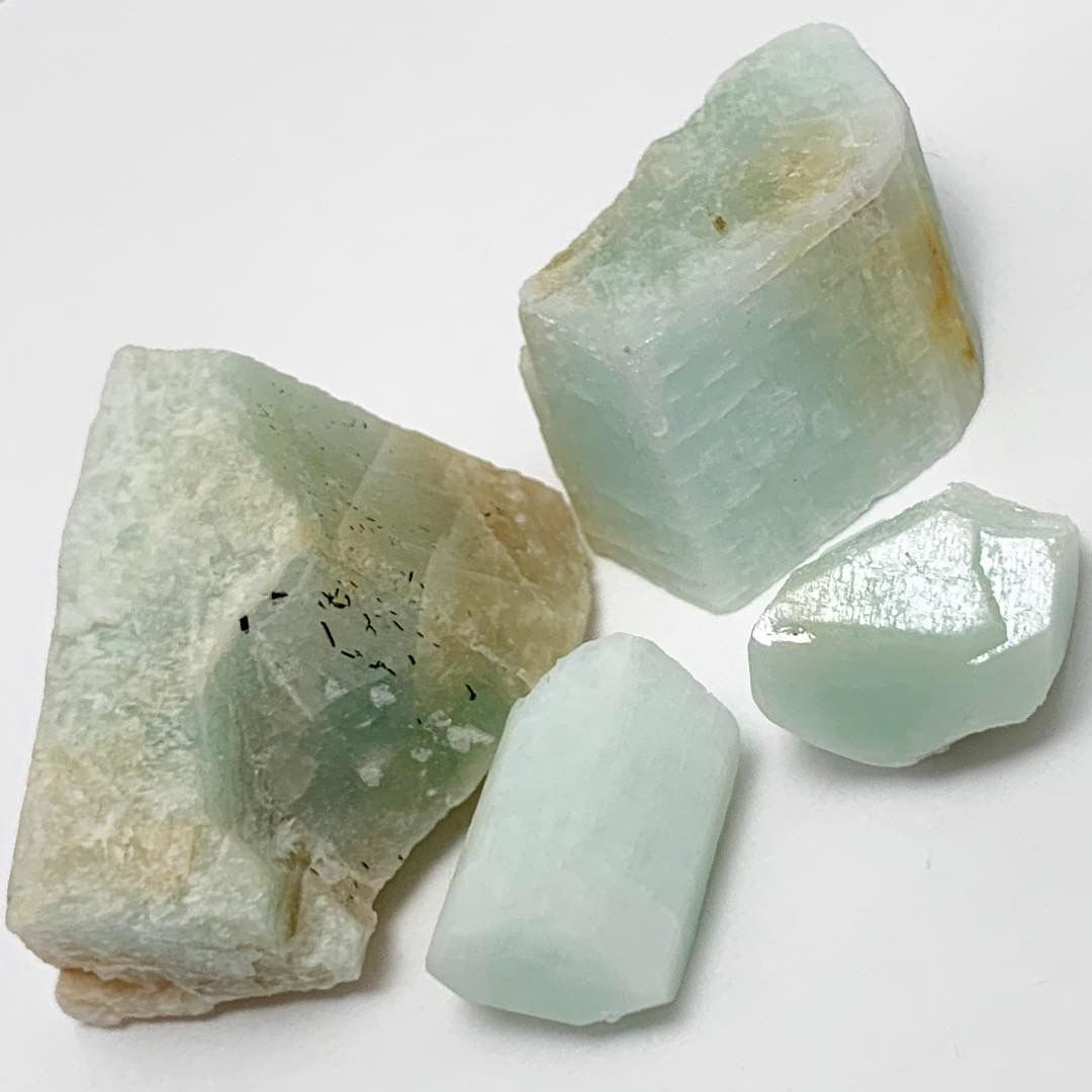 Texas Amazonite Uncleaned Crystals Rare Terminated Amazonite