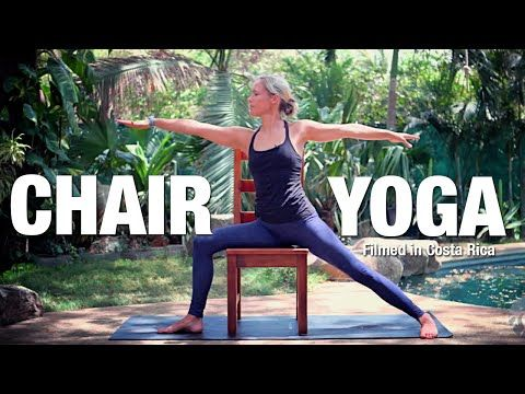 fun and playful  viki boyko leads this 30min chair yoga