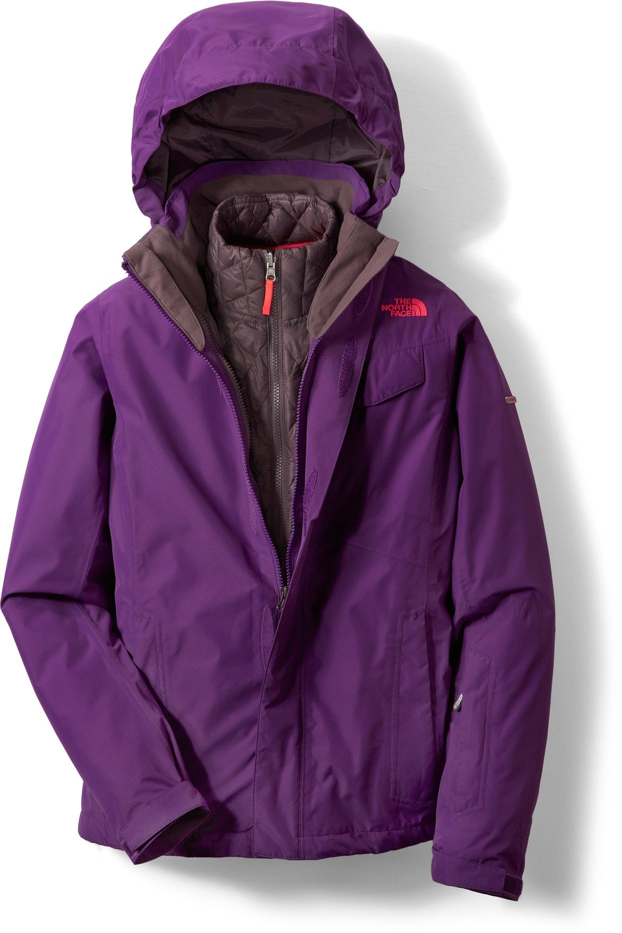 7b40c7e659dd The North Face Helata ThermoBall Triclimate 3-in-1 Jacket - Women s -  REI.com