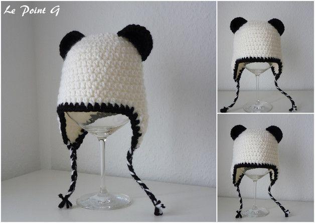 Halten Sie Den Kopf Ihres Babys Warm Durch Den Panda Mütze Panda