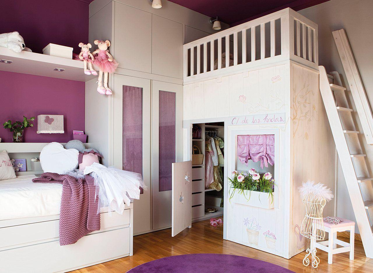 10 habitaciones infantiles bien organizadas ni os d habitaciones infantiles - Habitaciones infantiles nino ...