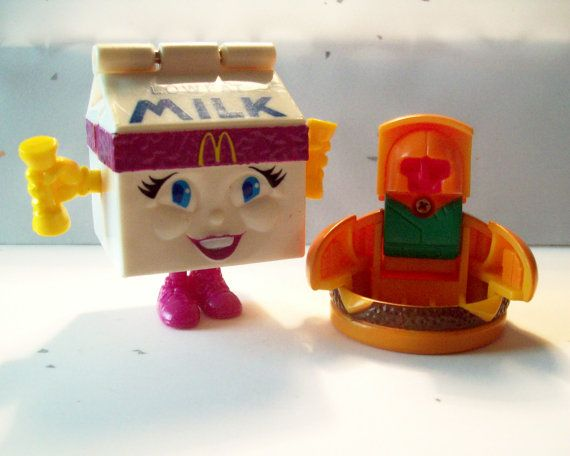 Vintage McDonalds Toys Transformers 1980's by SunnyDaySupplies, $6.99