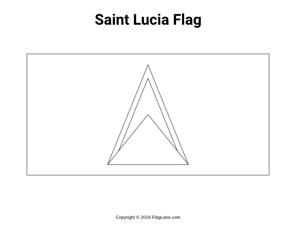 Free Printable Saint Lucia Flag Coloring Page Download It At Https Flaglane Com Coloring Page Saint Lucian Flag Coloring Pages St Lucia Flag Coloring Pages