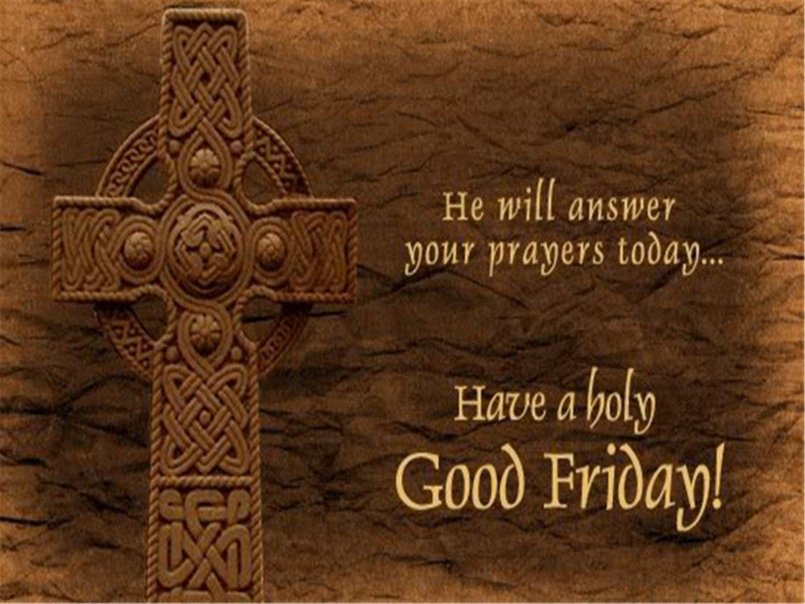 Happy Good Friday 3D Images