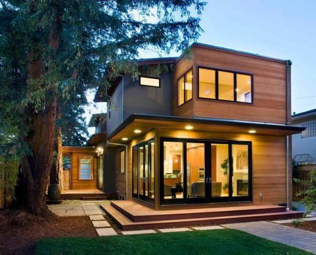 Tipos de techos casas ecol gicas de madera para la for Tipos de techos interiores para casas