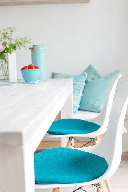 panton chair seat cushions eames decorations sitting cushion side chairs - Tolles Dekoration Eames Chair Sitzkissen