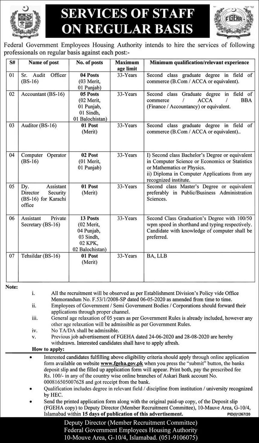 National Housing Authority Application Form