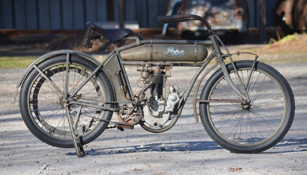 1912 Pope Old Motorcycles Motorcycle Poppet Valve