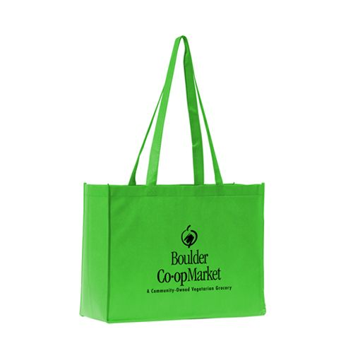 Custom Mantra Polytex Large Convention Tote Bags