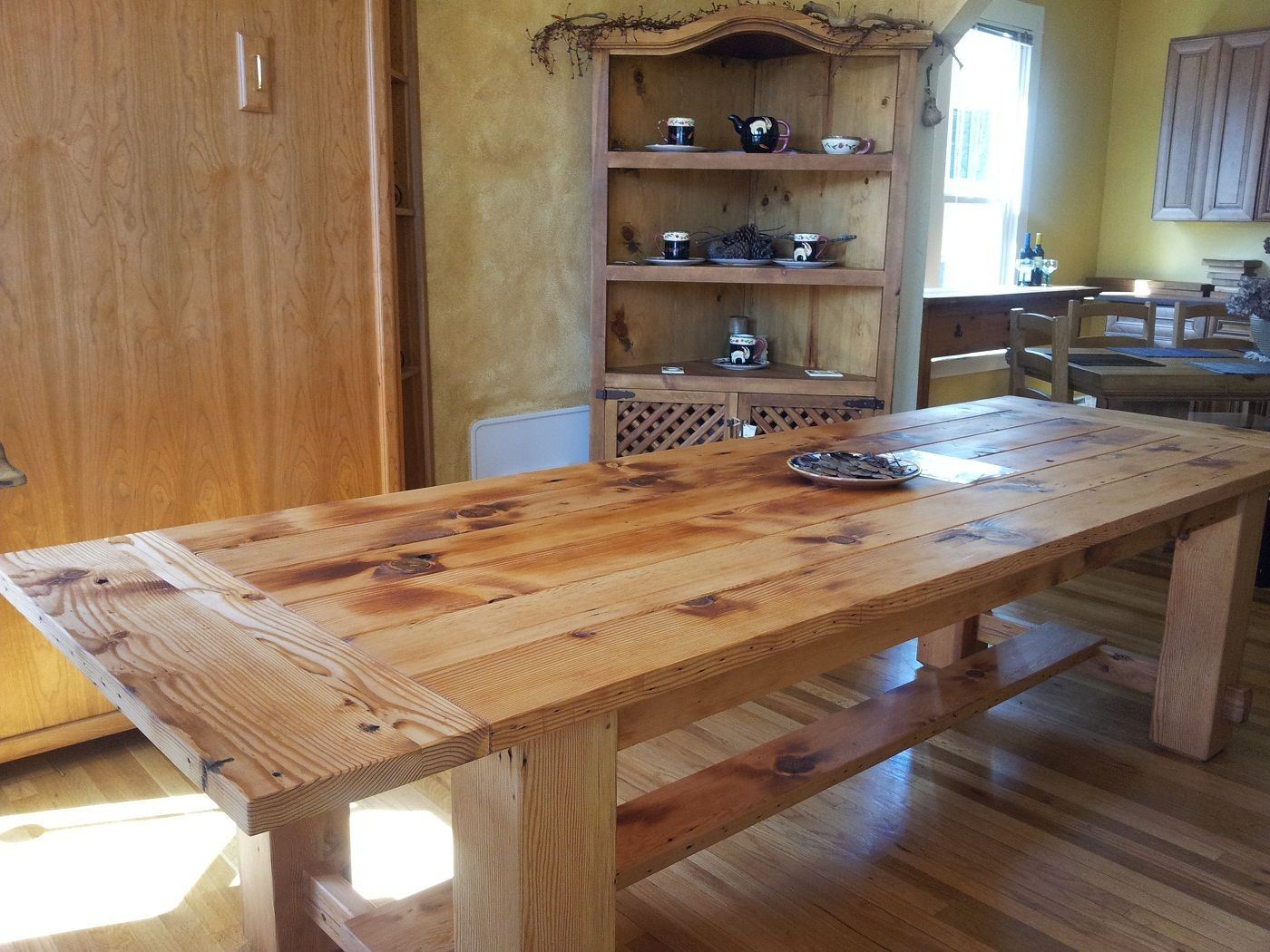 Painting of Real Wood Dining Table Review Kiefer