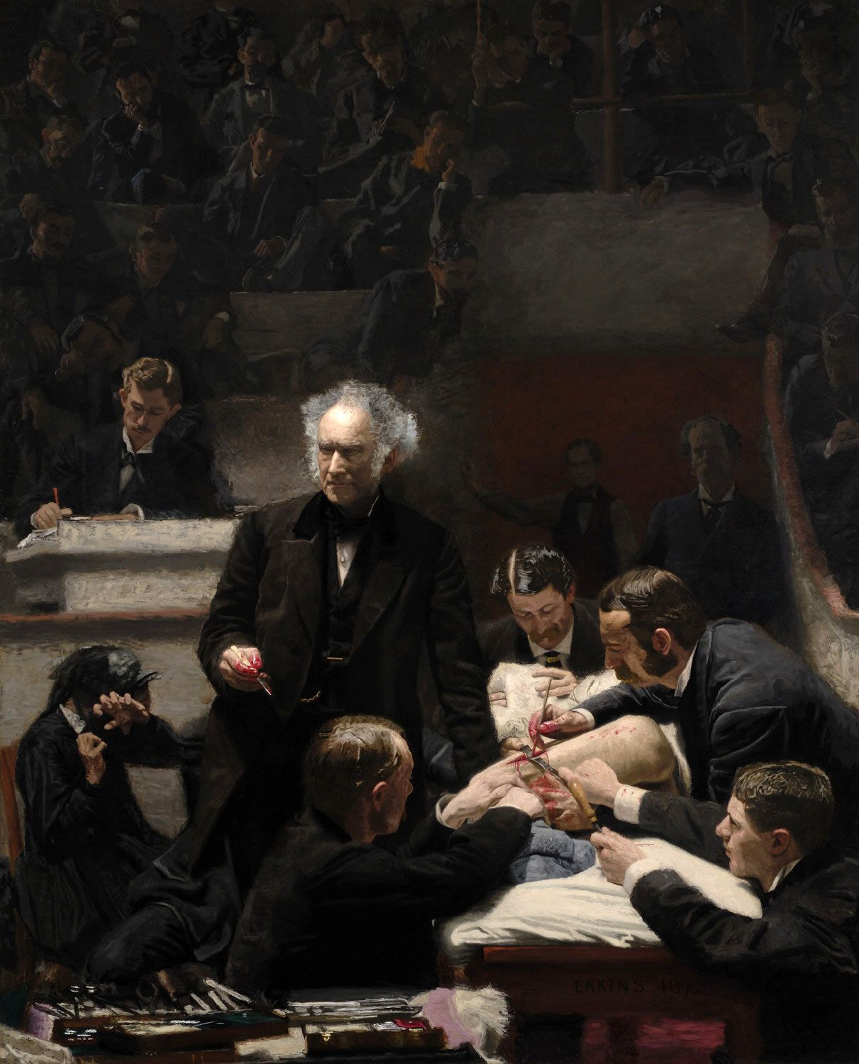 Thomas Eakins - The Gross Clinic: #29 Most Expensive Painting. | Art ...